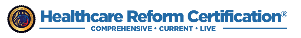 Healthcare Reform Certification Logo
