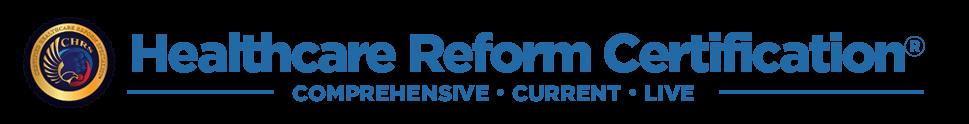 Healthcare Reform Certification Logo